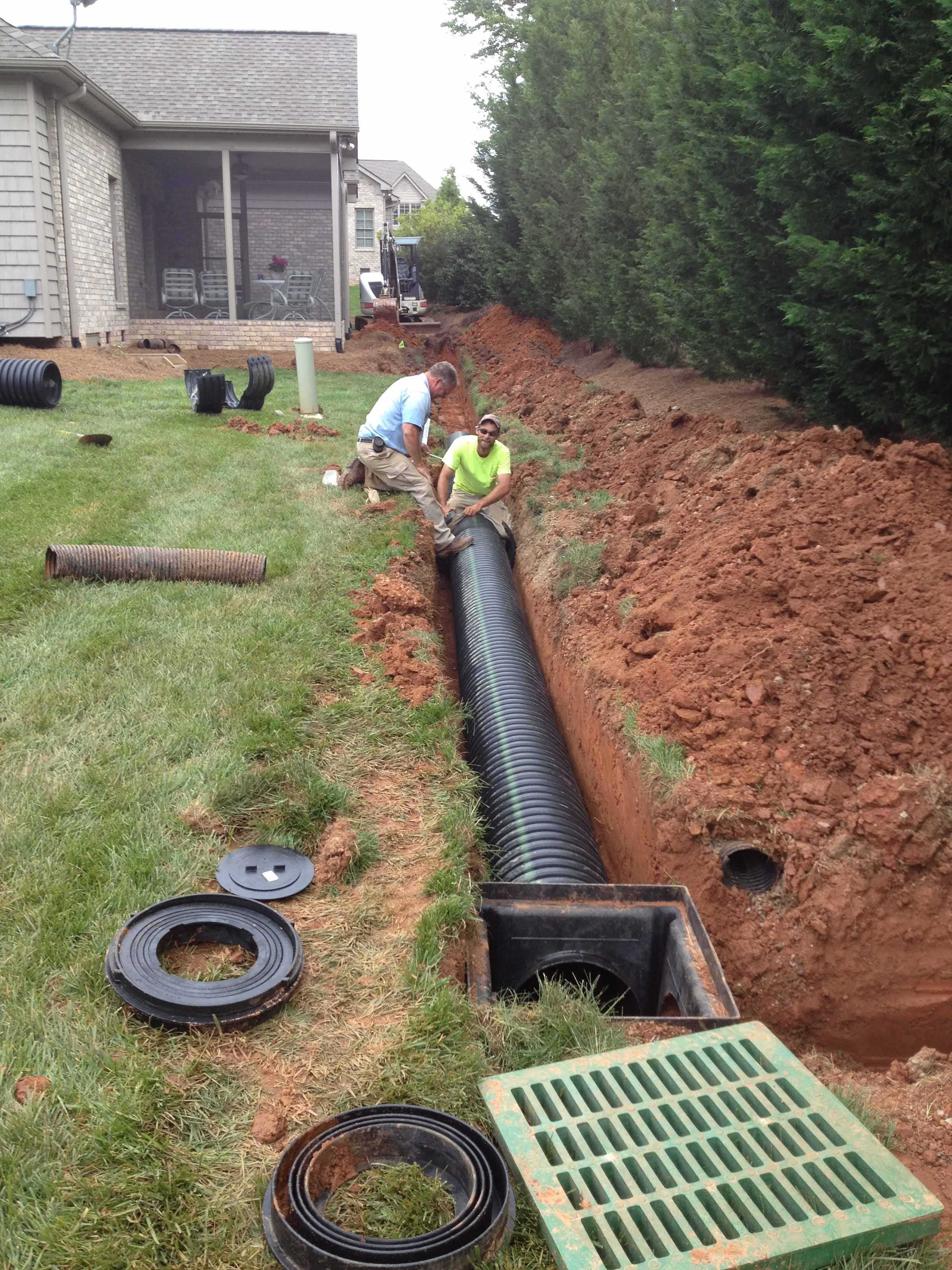 Residential Drainage